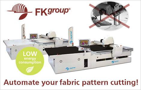 FK Group automate your fabric pattern cutting