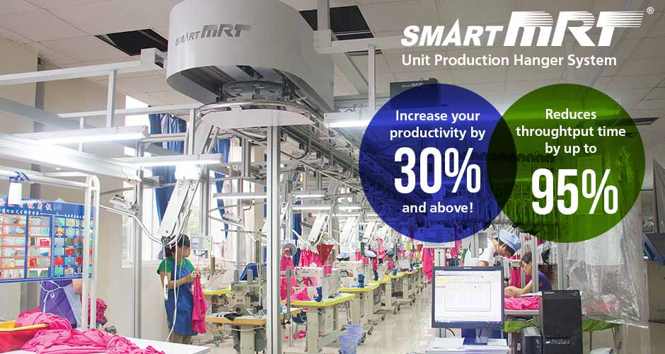 SmartMRT Unit Production Hanger System