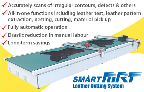 SmartMRT Leather Cutting System