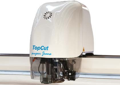 TopCut Super Jeans cutting head